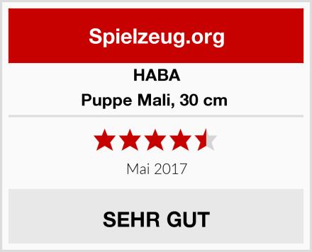 HABA Puppe Mali, 30 cm  Test