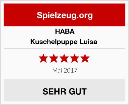 HABA Kuschelpuppe Luisa  Test