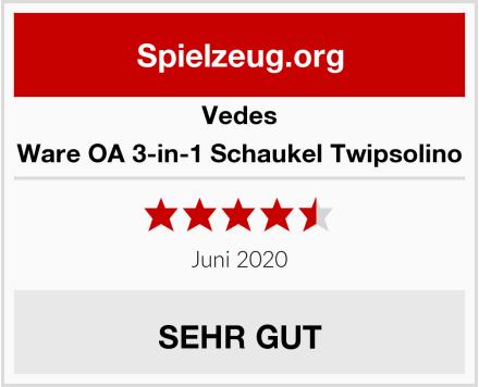 Vedes Großhandel GmbH Ware OA 3-in-1 Schaukel Twipsolino Test
