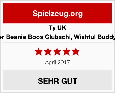 Ty UK Plüschtier Beanie Boos Glubschi, Wishful Buddy-Einhorn Test
