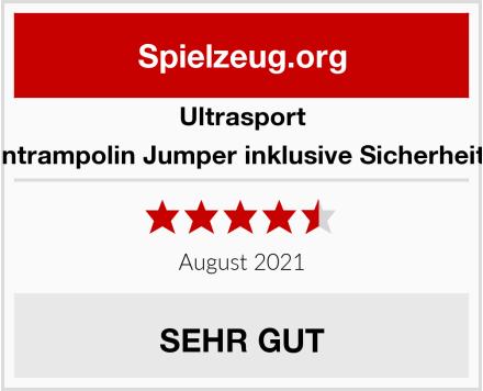 Ultrasport Gartentrampolin Jumper inklusive Sicherheitsnetz Test