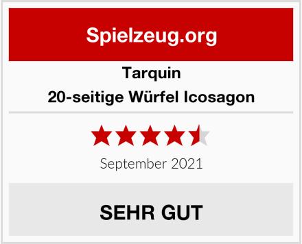Tarquin 20-seitige Würfel Icosagon Test