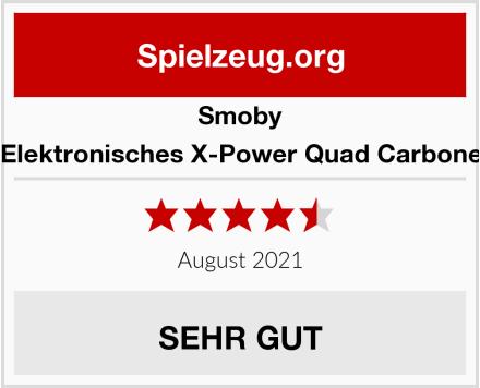 Smoby Elektronisches X-Power Quad Carbone Test