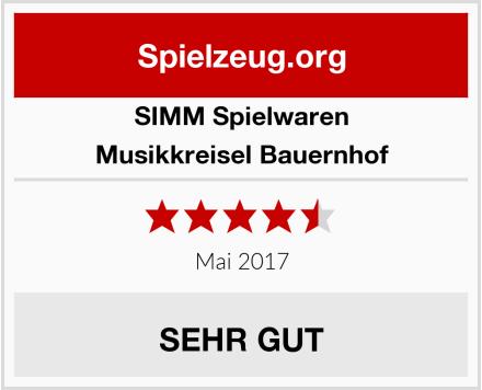 SIMM Spielwaren Musikkreisel Bauernhof Test