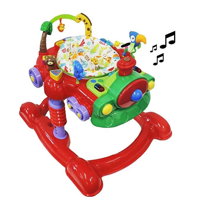Baby Gehhilfe Spielzeug Children Music Walker /& Gehfrei