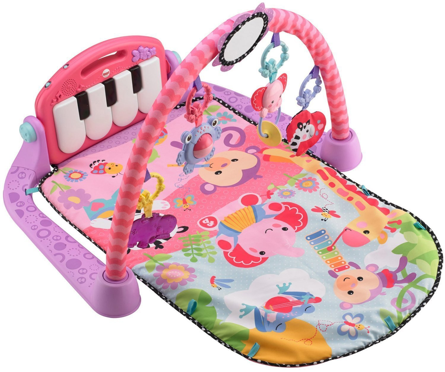 Fisher-Price BMH48 Rainforest Piano-Gym