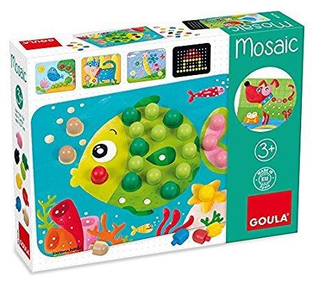 Goula Mosaik Tiere Holzspiel