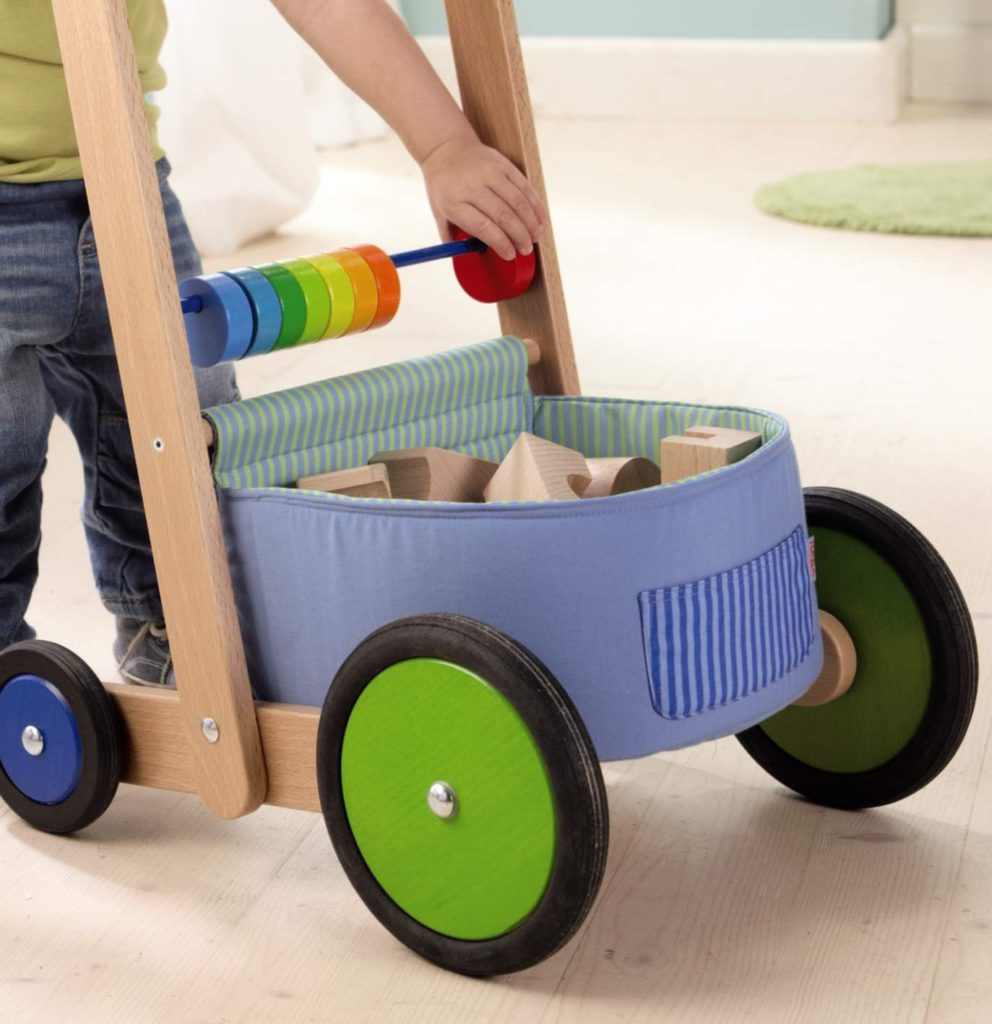Haba lauflernwagen farbenspaß spielzeug test