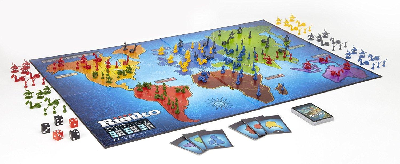 hasbro 28720100 risiko spiel für erwachsene  spielzeug