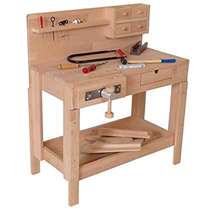 Holzspielzeug Peitz Kinder Werkbank 4014 Spielzeug Test 2020