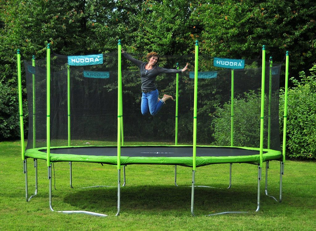 hudora family trampolin spielzeug test 2018. Black Bedroom Furniture Sets. Home Design Ideas