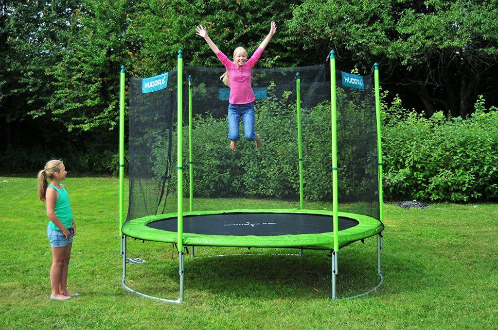 hudora family trampolin spielzeug test 2018. Black Bedroom Furniture Sets. Home Design Ideas