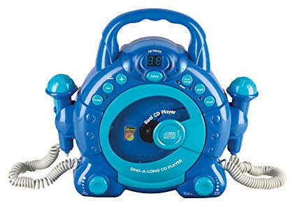 Idena 40104 - Kinder CD Player SING A LONG