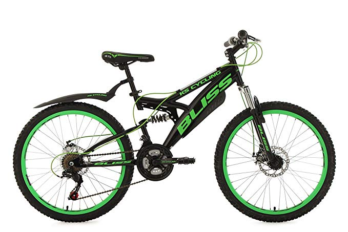 ks cycling mountainbike fully 24 39 39 spielzeug test 2019. Black Bedroom Furniture Sets. Home Design Ideas
