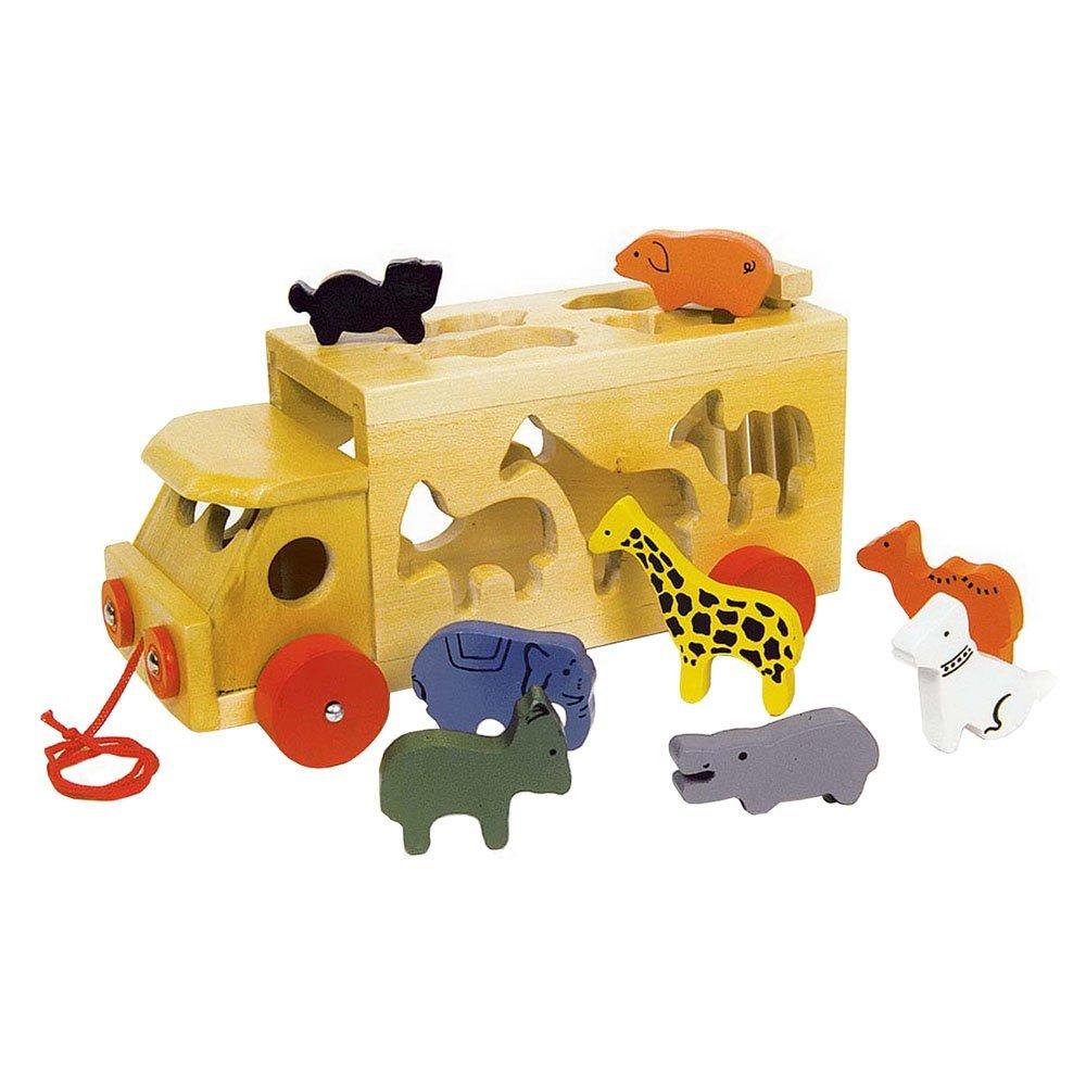 Legler 7223 Zoowagen mit Tieren