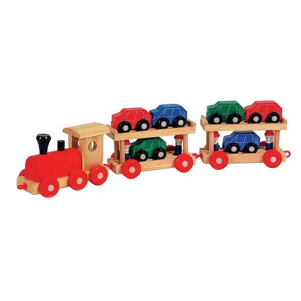 Legler Holzeisenbahn Autoreisezug
