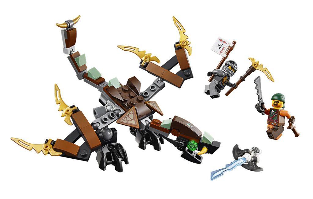 Lego 70599 ninjago coles drache spielzeug test 2018 - Dragon ninjago lego ...