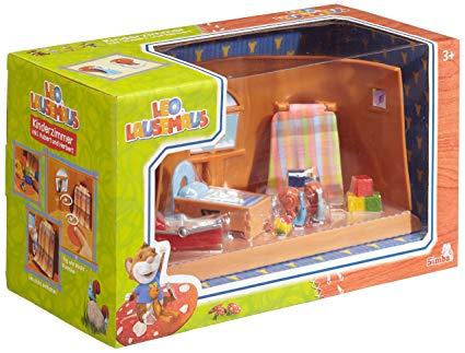 Leo Lausemaus Kinderzimmer mit Hubert + Herbert