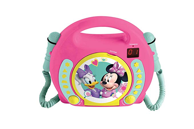 Lexibook Disney Junior Minnie Maus CD-Player