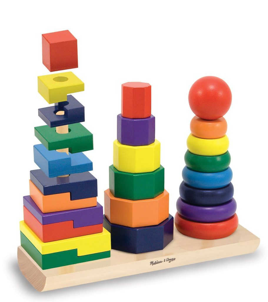 Stacking Toys For 12 Month Old : Melissa doug spielzeug test