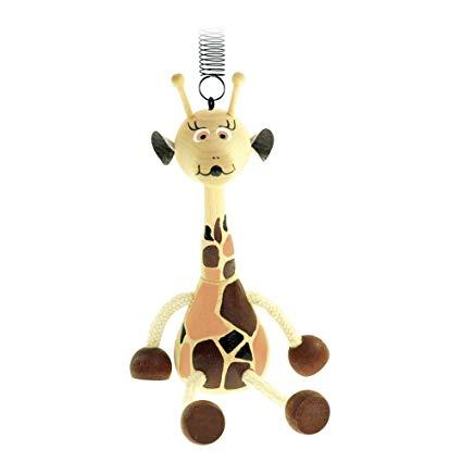 Mertens BINO 90913 Nachziehspielzeug Giraffe
