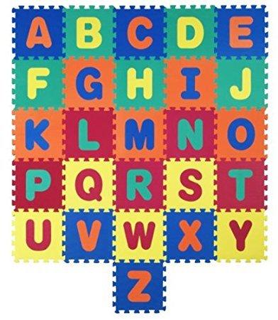 No Name Bigood 26-teilig EVA Puzzlematte