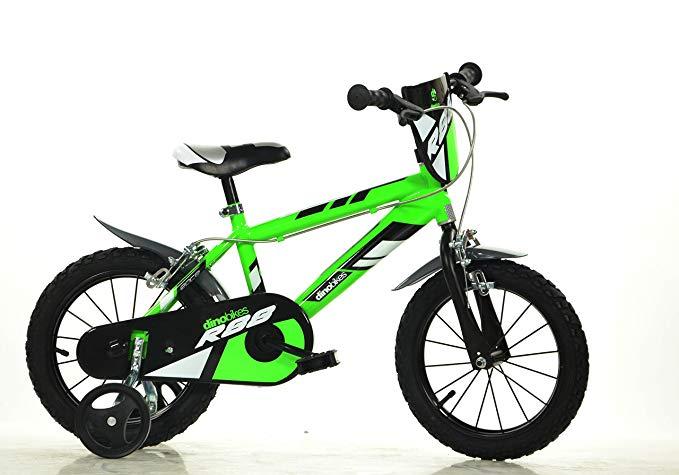 No Name Dino Bikes Jungen Kinderfahrrad grün 416U