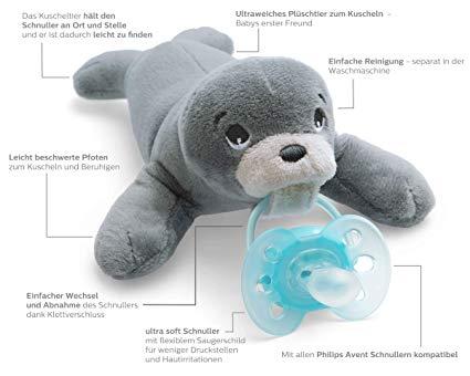 Philips Avent Beruhigungssauger Ultra Soft Farb /& Größenwahl NEU
