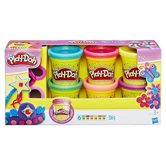 Play-Doh A5417EU8 Glitzerknete