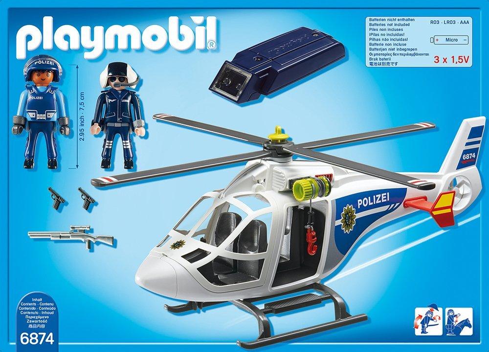 playmobil polizeihelikopter test  spielzeug test 2021