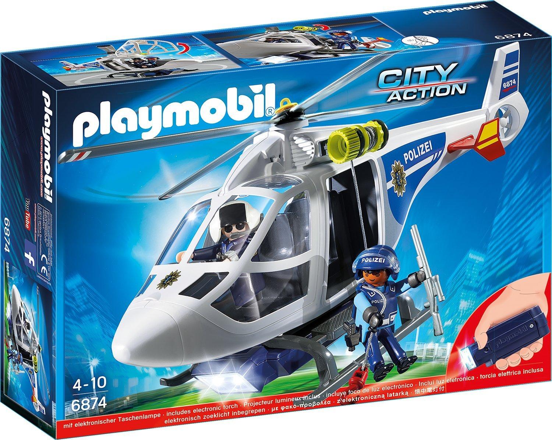 playmobil 6874 polizei-helikopter spielzeug test 2018