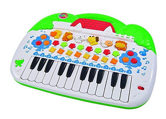 Simba 104018188 - ABC Tier-Keyboard