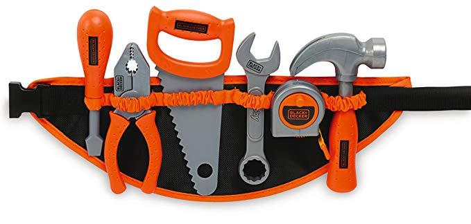 Smoby 360107 - Black + Decker Werkzeuggürtel