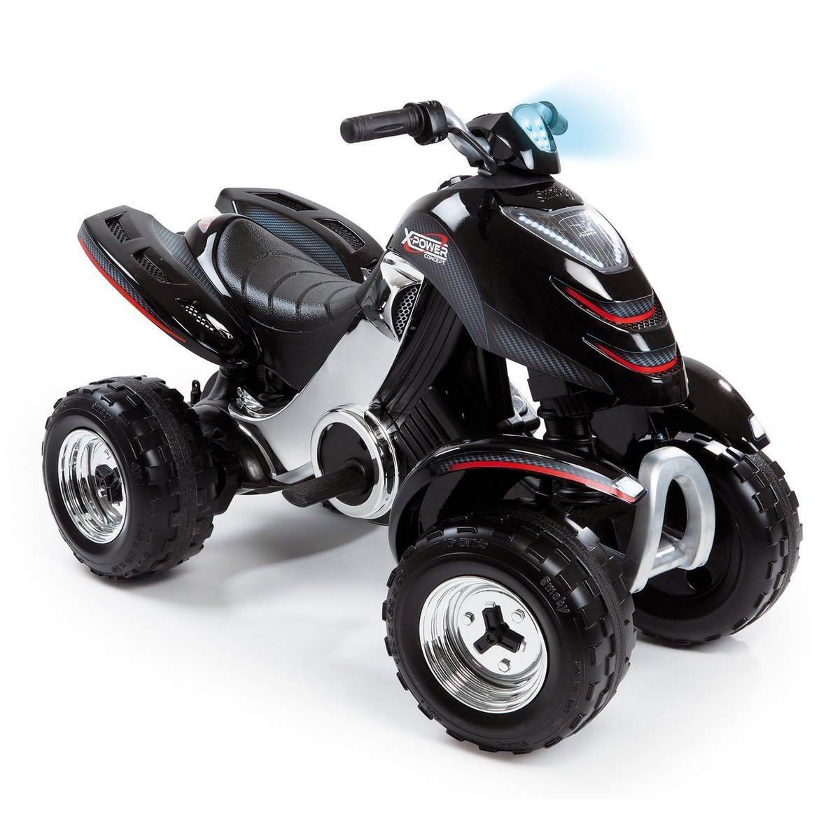 Smoby Elektronisches X-Power Quad Carbone