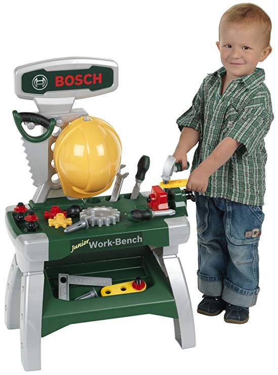 Theo Klein 8612 - Bosch Werkbank Junior Spielzeug Test 2019
