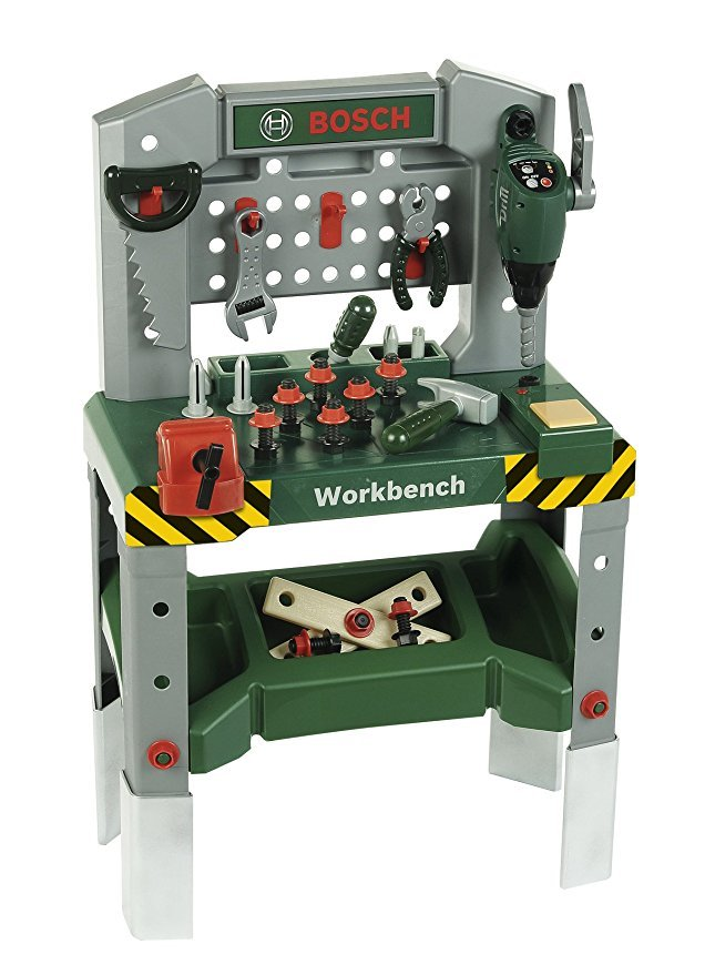 Theo Klein 8637 Bosch Werkbank mit sound | Spielzeug Test 2020