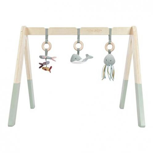 "Little Dutch Holz Baby Gym Spieltrapez ""Ocean Mint"""