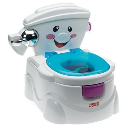 Mattel P4326 - Meine erste Toilette