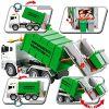 Tacobear Müllwagen Spielzeug