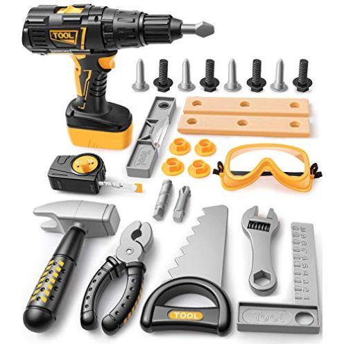 GeyiieToys Kinder Werkzeug Set