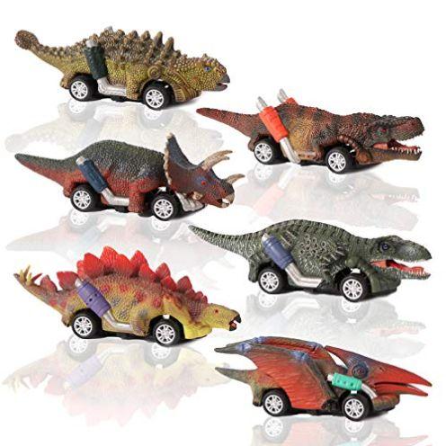 CUTOYOO Dinosaurier Spielzeug-Auto