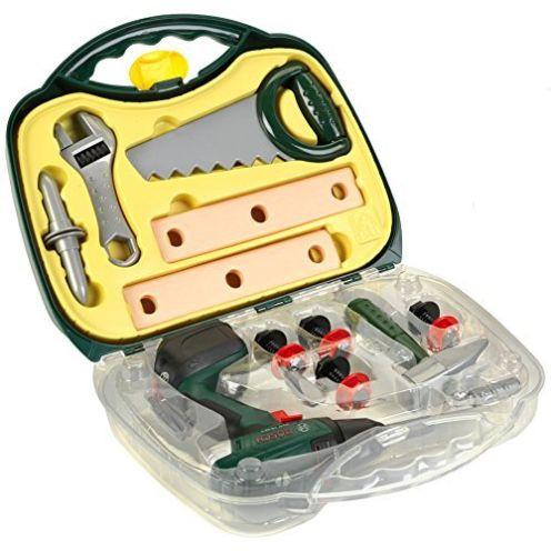 Theo Klein 8584 - Bosch Akkuschrauber-Koffer mit Zubehör