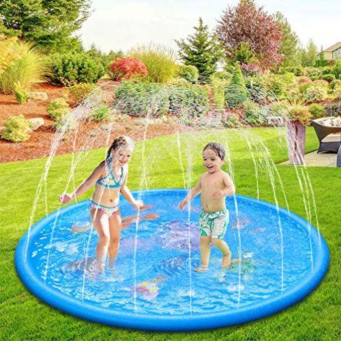Anpro Splash Pad Wasserspielmatte
