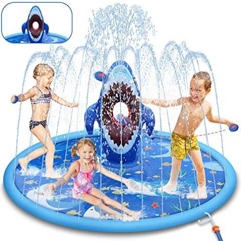 LETOMY Splash Pad Wasserspielmatte