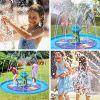 Vatos Splash Pad Sprinkler Play Matte