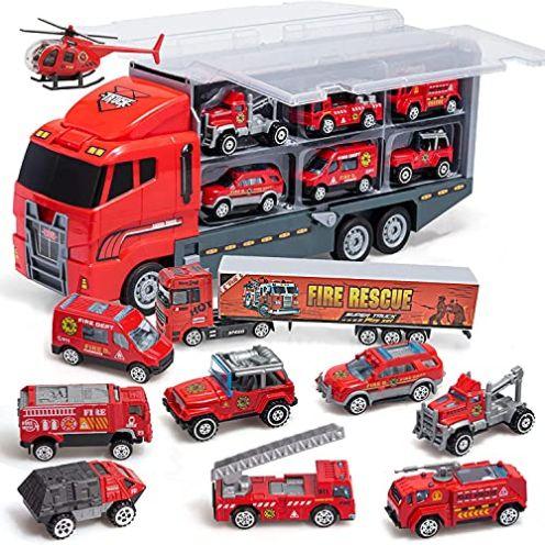 Coolplay Feuerwehrauto-Set