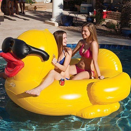 TGDY POO Float Große Gelbe Ente Schlauchboot