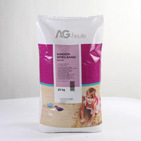 A&G heute 25 kg Spielsand Quarzsand für Sandkasten