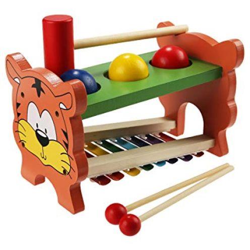 Arshiner Xylophon und Hammerspiel aus Holz