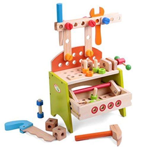 BabyHugs Kinder-Werkbank-Werkzeugkiste